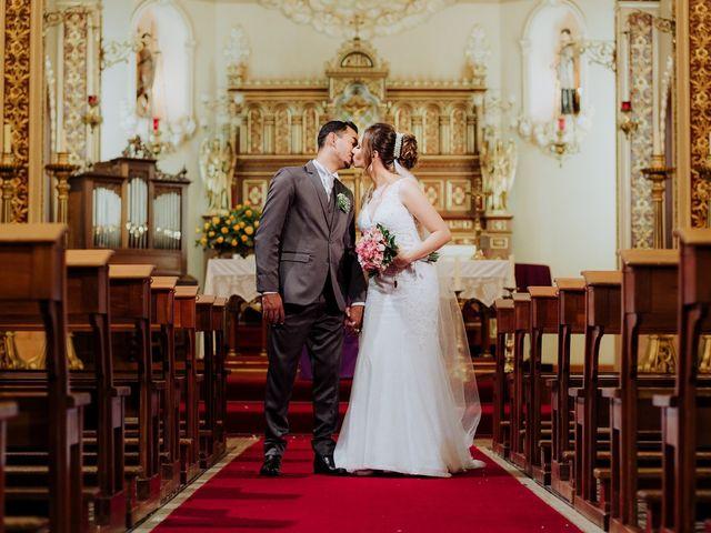 O casamento de Franciele e Stanislau