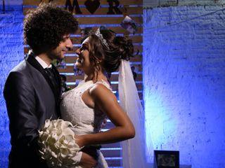 O casamento de Mônica  e Efraim
