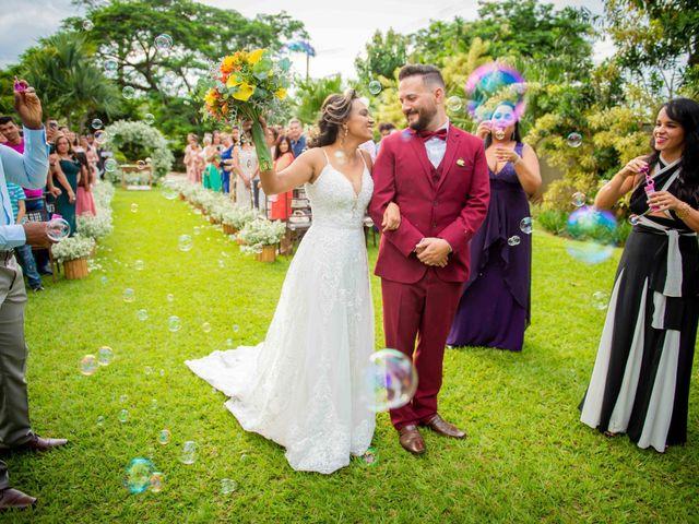 O casamento de Liliane e Elvis