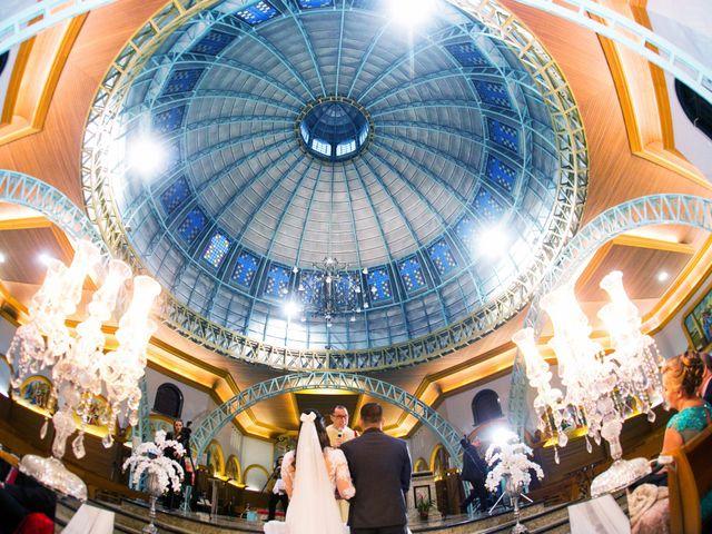O casamento de Camila e Michel