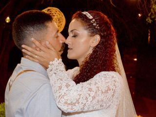 O casamento de Tardelly e Keyse