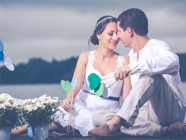 O casamento de Larissa e Junior