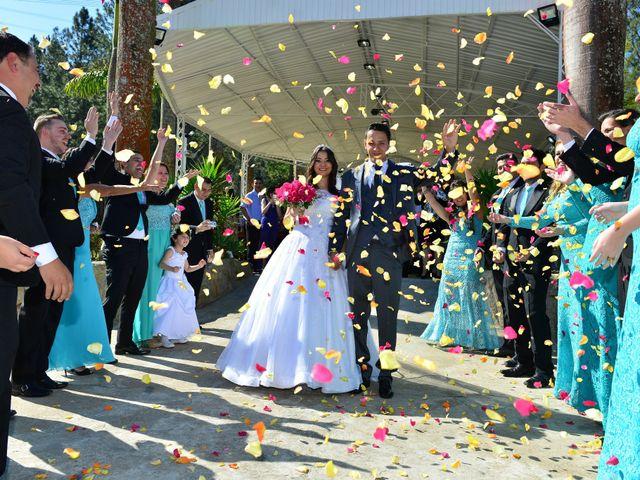 O casamento de karine e leonardo