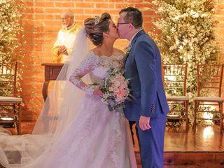 O casamento de Daiane e Paulo