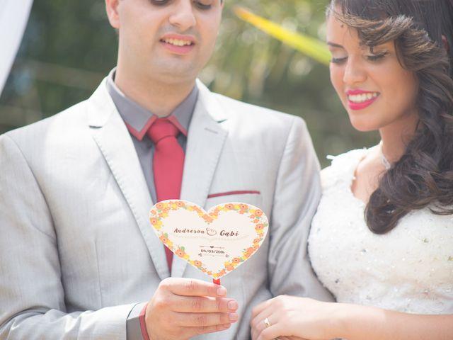 O casamento de Gabi e Andreson