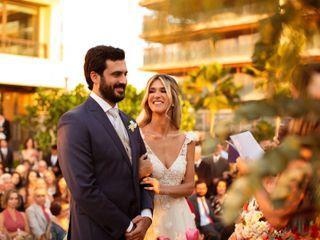 O casamento de Lupia e Ricardo