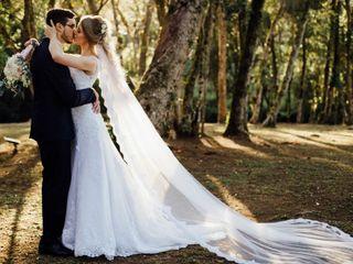 O casamento de Evelyn e Gustavo