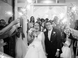 O casamento de Viviane e Elias