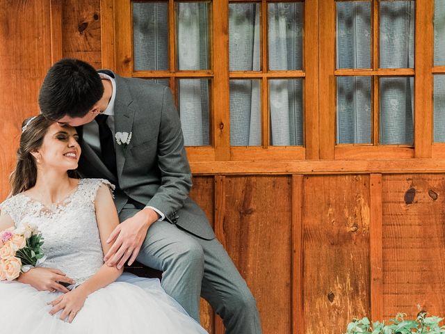 O casamento de Aline e Nathan