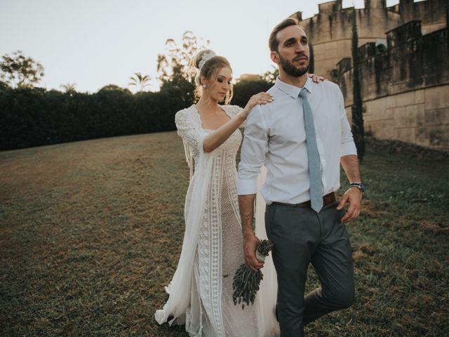 O casamento de Martha e Oscar