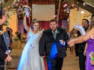 O casamento de Talita e Buck