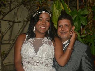 O casamento de Alaine e Cícero