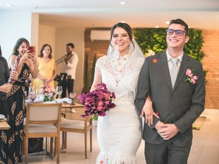 O casamento de Tatiana e Marcelo