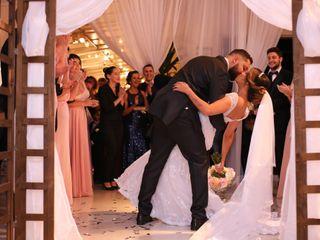 O casamento de Camila e Lourival