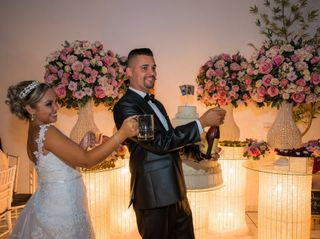 O casamento de Adrieli e Gleidys