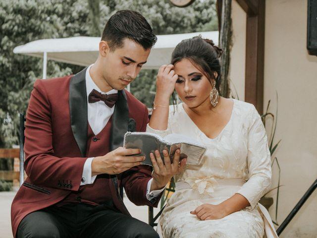 O casamento de Camila e Henrick