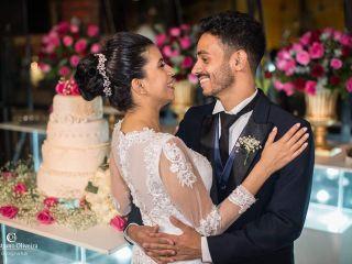 O casamento de Larissa e Laio e Laio