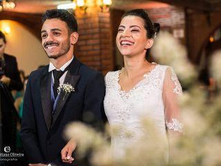O casamento de Larissa e Laio e Laio 3