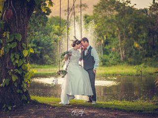 O casamento de Grazi e John