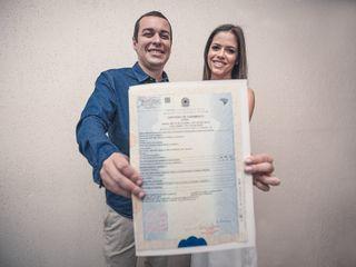 O casamento de Luiza e Miguel