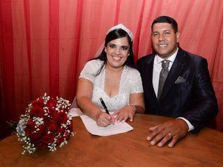O casamento de karina e Cleuber