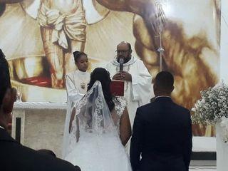 O casamento de Evanio e Vanessa
