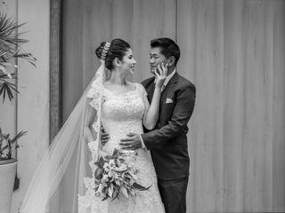O casamento de Cassia e Flávio
