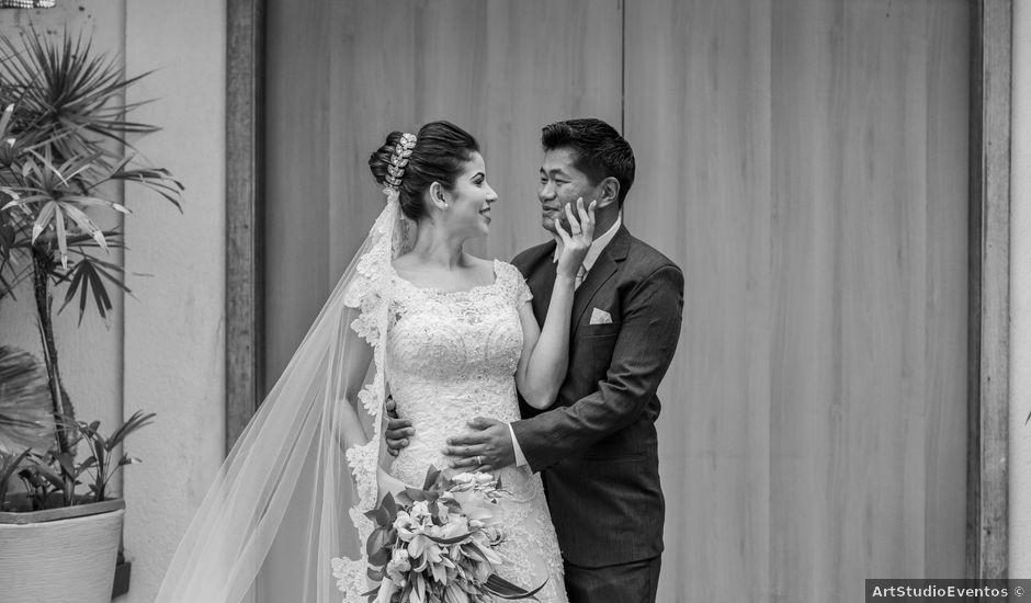 O casamento de Flávio e Cassia em São Paulo, São Paulo