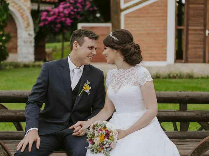 O casamento de Tágille e Nélio