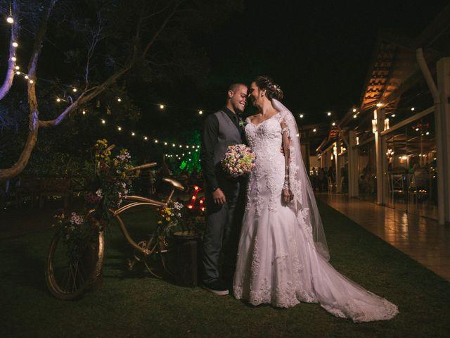 O casamento de Aline e Leandro