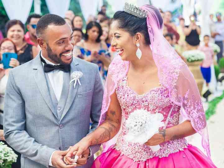 O casamento de TALITHA e JONATHAS