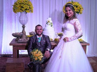 O casamento de Neia e Wagner