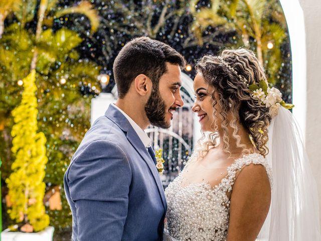 O casamento de Ciely e Michel