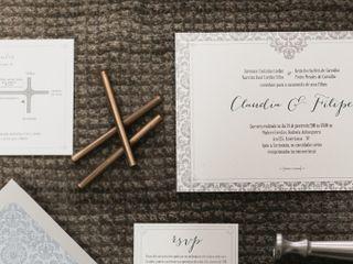 O casamento de Claudia e Filipe 1
