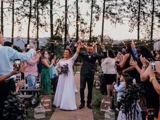 O casamento de Dayane  e Vagner 1