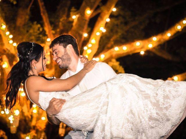 O casamento de Camila e Osmar