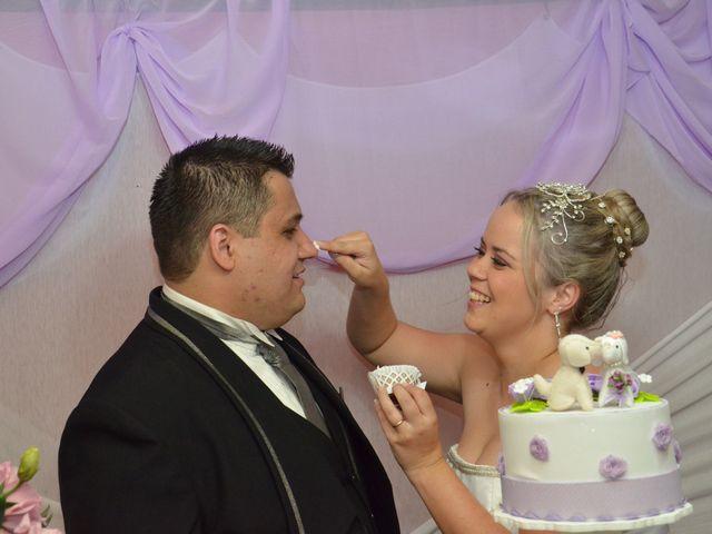 O casamento de Michele e Fernando