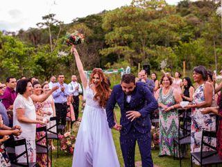 O casamento de Mila e Bru