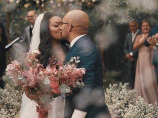 O casamento de Rozanny e Luan