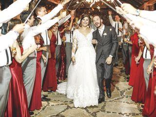O casamento de shirley e leandro