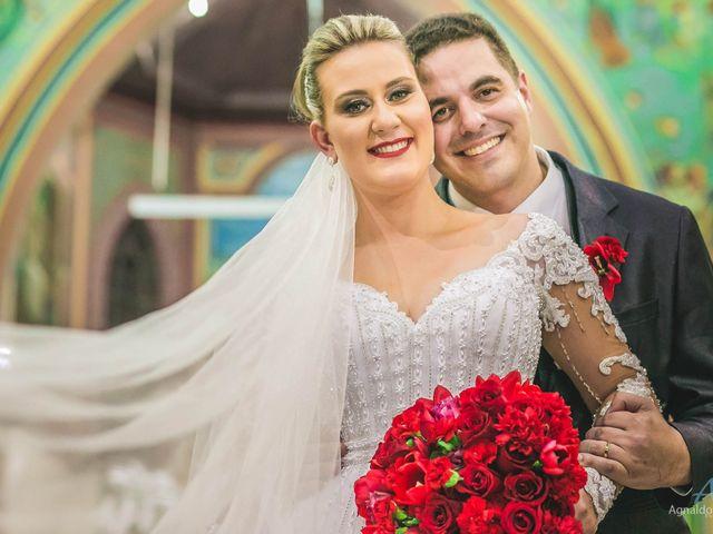 O casamento de Camila e Amilton