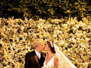 O casamento de Pamela e Kristian