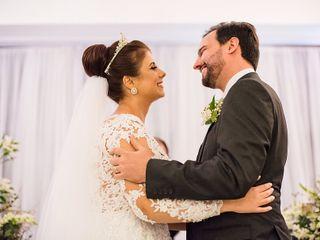 O casamento de Carla e Rodrigo
