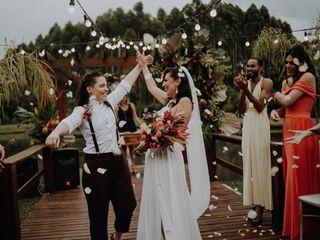 O casamento de Thaciane e Carla