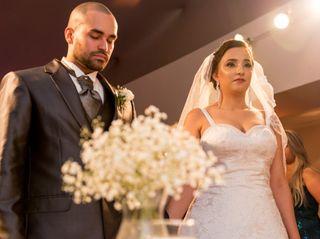 O casamento de Caroline e Diogo
