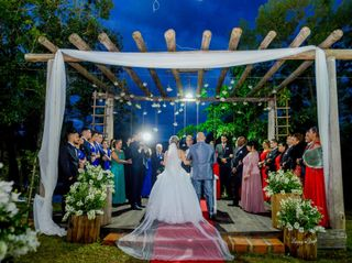 O casamento de Luana e Douglas