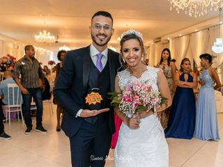 O casamento de Ingrid e Brenner 1