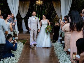 O casamento de Fayda e Victor