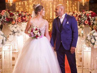 O casamento de Lana e Rogério