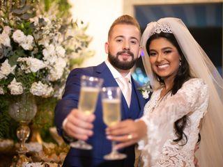 O casamento de larissa e Fernando